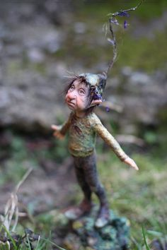 dolls by chopoli | Little pixie Hadi OOAK made by Tatjana Raum by chopoli on ... | Art...
