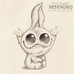 1000 Images About Cute Creature Art On Pinterest Chris