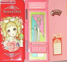 pen case with the illustration of Makoto Takahashi -- cute!