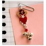 Office Angel Valentine Paper Clip Pattern