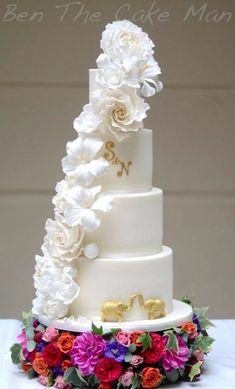 Featured Cake: Ben the Cake Man; Wedding cake idea.