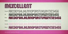 Mexcellent Font | dafont.com