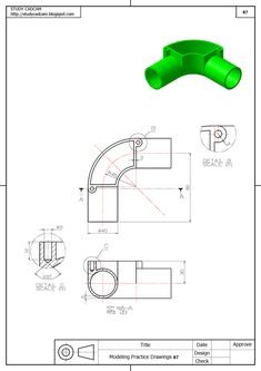 Isometric Drawing Exercises, Autocad Isometric Drawing, Hvac Design, Tool Design, Youtube Drawing, Interesting Drawings, Autodesk Inventor, Arts And Crafts For Adults, Cad Cam