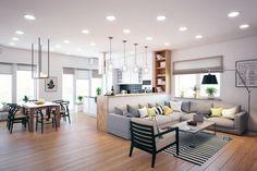 Proiectul unei case din Lipetsk sau cum sa-ti construiesti casa visurilor tale- Inspiratie in amenajarea casei - www.povesteacasei.ro