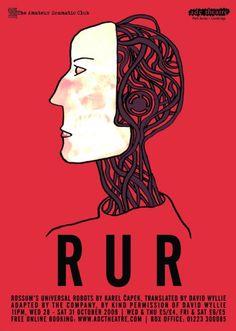Rossum's Universal Robots Theatre, Past, Sci Fi, Movie Posters, Robots, Image, Past Tense, Science Fiction, Theatres