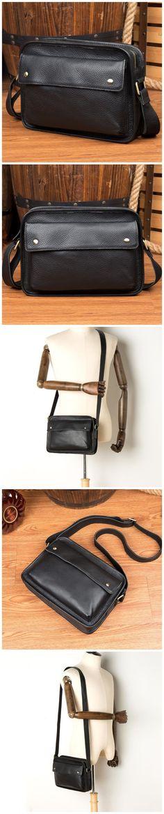 Full Grain Leather Shoulder Bag Handmade Messenger Bag Men Satchel Bag Model Number: Dimensions: x x / 27 cm(L) x 7 cm(W) x 20 cm(H) Weight: lb / kg Shoulder Strap: Adjustable Color: Black Features: Mens Satchel, Satchel Bag, Christmas Shopping, Christmas Gifts, Leather Shoulder Bag, Shoulder Strap, Messenger Bag Men, Natural Leather, Ipad Mini