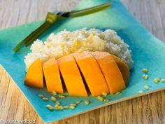 Süße Mango mit Klebreis | Asia Street Food – Asiatische Rezepte aus den Straßenküchen Vietnams, Thailands, Kambodschas, Myanmars und Burmas