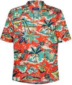 Casual Shirts For Men, Men Casual, Mens Hawaiian Shirts, Aloha Shirt, Hawaiian Print, Hula, Color Theory, Apparel Design, Sweater Weather