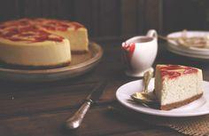 Trata de queso y espirales de fresa (Kanelaylimon)