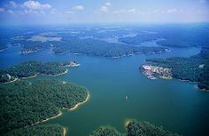 Smith Lake is a reservoir in north Alabama. Located on the Sipsey Fork of the Black Warrior River, the lake covers over 21,000 acres in Cullman, Walker, and Winston counties. The three-fingered lake has over 500 miles of shoreline, and at full pool has a level of 510 feet. It has fishing, tent and cabin camping, water sports as well as breathtaking landscape and hide away living.