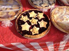 Michigan City Indiana farmers' market homemade pies via Gardenista