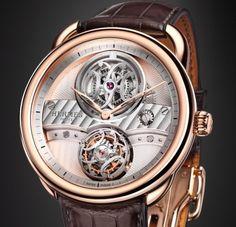 Une montre Hermès à tourbillon volant | The Watch Observer