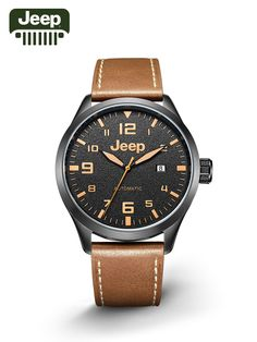 Jeep Original Watches Casual Fashion Simple Leather Band Mechanical Watches  JPW66003 Cheap Watches b8ec0234f20d5
