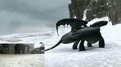Für die Animation von Ohnezahn in Drachenzähmen leicht gemacht befestigte einer der Animatoren einen Klebeband-Ball am Schwanz seiner Katze.   17 Fakten über die Tiere in Deinen Lieblings-Filmen, die Du nicht kanntest