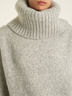 Thick Sweaters, Women's Sweaters, Sweater Outfits, Men Sweater, Roll Neck, Acne Studios, Riddling Rack, Turtle Neck, Wool