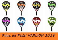Ya están a la venta las palas varlion 2015, máxima calidad al mejor precio en las ofertas de padelstar.