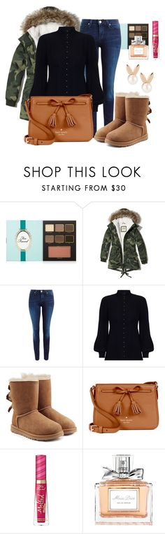 """""""Casual autumn ✨🍁"""" by mayteaparty on Polyvore featuring moda, Too Faced Cosmetics, Hollister Co., Lee, Zimmermann, UGG, Kate Spade, Aamaya by Priyanka y Christian Dior"""