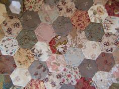 StitcheryJen: Triangles and Hexagons