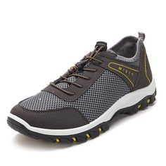 Men Breathable Mesh Climbing Hiking Outdoor Athletic Shoes Men Breathable  Mesh Climbing Hiking Outdoor Athletic Shoes 0076323a4e4a