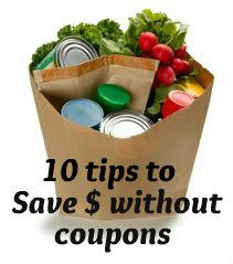 10 tips to save money at the grocery store (no couponing)