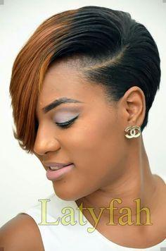 Short Black Hairstyles Hairstyles 2018 - - New Hair Styles Cute Hairstyles For Short Hair, My Hairstyle, Girl Short Hair, Short Hair Cuts, Bob Hairstyles, Braided Hairstyles, Curly Hair Styles, Natural Hair Styles, Trendy Hairstyles