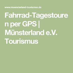 Fahrrad-Tagestouren per GPS | Münsterland e.V. Tourismus