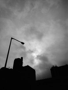 the black sky