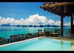 Hotel Six Senses Yao Noi (Phuket, Thailand) This looks great....maybe my next trip.