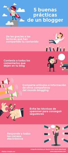 Las buenas prácticas de un blogger