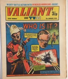 """""""Who'll stop the bombs? Fury 94 (january cover by Gil Kane, Frank Giacoia, and Sam Rosen. Vintage Toys 1960s, Vintage Comics, Vintage Books, War Comics, Marvel Comics, Comic Book Artists, Comic Books, Cartoon Books, The Valiant"""