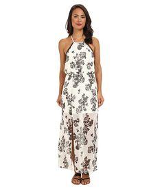 Brigitte Bailey Jillian Floral Halter Maxi Dress