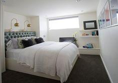 Schlafzimmer weich matratze weiß bettwäsche Keller einrichten