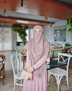 Muslim Hijab, Niqab, Ootd, Beautiful, Women, Style, Fashion, Swag, Moda