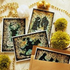Christmas postcards and greeting cards are ready to send!