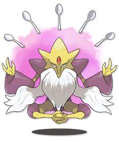 Pokemon X and Y | Mega Alakazam