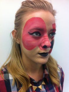 animal farm pig MUA- Taya van Geleen Model- @Jess Pearl Robin MUA