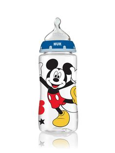Disney Baby Mickey Mouse and Minnie Mouse Orthodontic Bottles | NUK