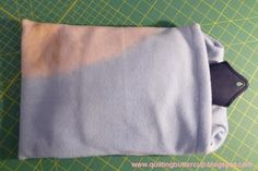 Quilting Buttercup: How to make a soft and cozy hot water bottle cover