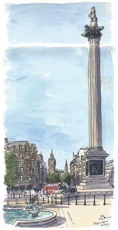 Trafalgar Square / Pete Scully