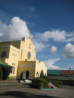 Church in Batangas, Philippines