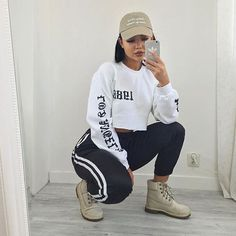 Best Baddie Outfits Part 5 Chill Outfits, Dope Outfits, Casual Outfits, Fashion Outfits, Womens Fashion, Fashion Ideas, Fashion Skirts, Urban Fashion, Fashion Looks