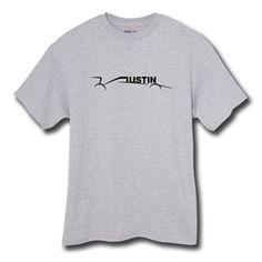 Austin car t-shirt in light grey heather by THE AUSTIN GRAND PRIX $19.99
