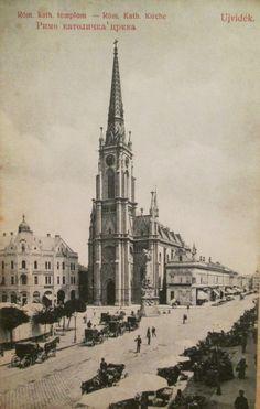 1909 The Roman Catholic Church Novi Sad, Roman Catholic, Old Photos, Taj Mahal, Beautiful Places, Statue, City, Building, Travel