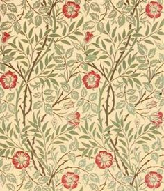William Morris Sweet Briar Tapet Victorian Decor, Morris Wallpapers, Mustard Wallpaper, Wallpaper, William Morris, Fabric Dining Chairs, Dining Room Style, Ornaments Design, Prints
