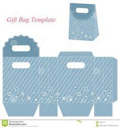 Résultat d'images pour Gift Bag Template