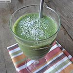 Green Protein Coconut Smoothie: Dairy Free