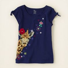 girl - short sleeve tops - gathered sleeve shine top | Children's Clothing | Kids Clothes | The Children's Place