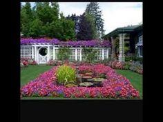 Creative Ideas for Garden Decor 2017 - Amazing Garden Ideas Amazing Gardens, Mansions, House Styles, Creative, Plants, Design, Google Search, Home Decor, Youtube