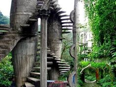 Surrealist Garden: Las Pozas