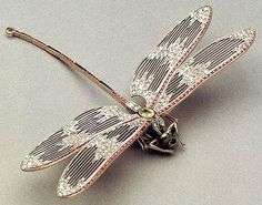 Dragonfly brooch by Georges Auger, ca. 1895